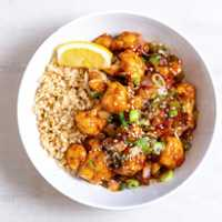 Orange Sesame Cauliflower