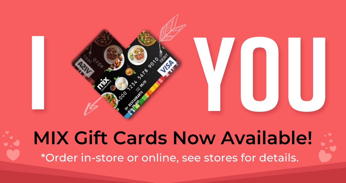 Valentine's Gift Cards Now Available for Purchase